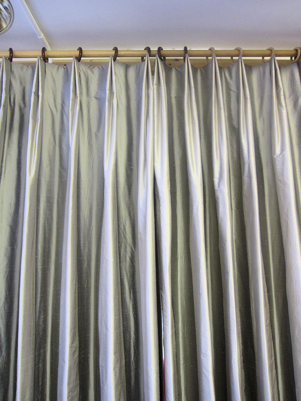 sheer pom semi valance pinch single home pdp solid curtain pleat at window panel treatments
