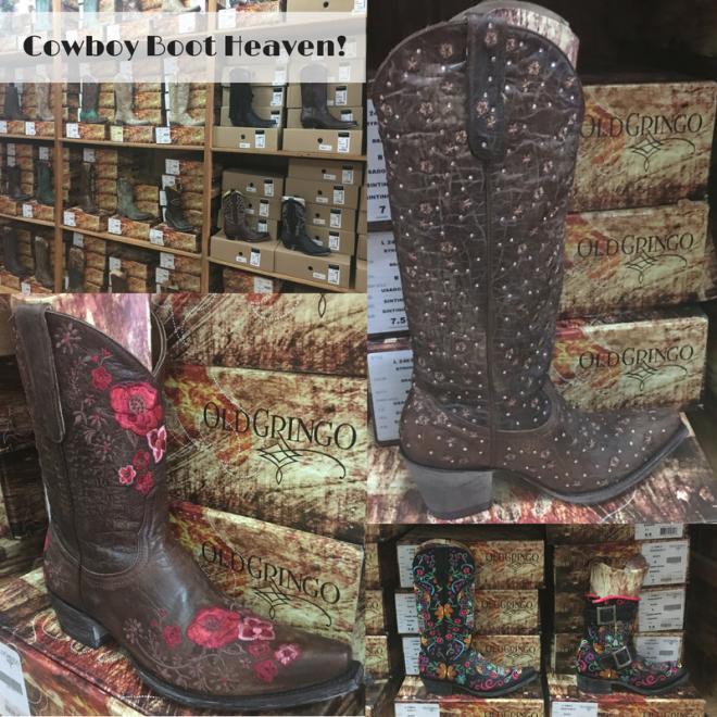 Cowboy Boot Heaven!!