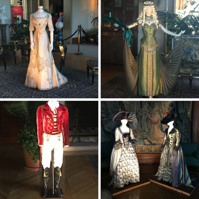 costumes at Biltmore